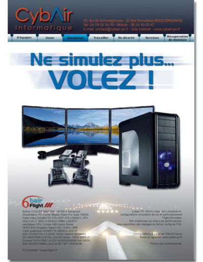 Affiche pour Cybair PC Informatique