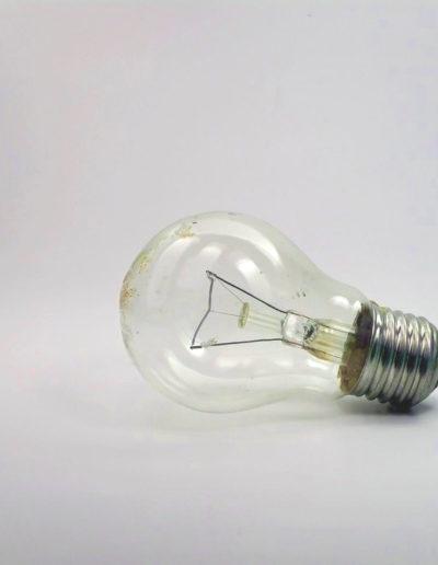 Photo d'ampoule électrique