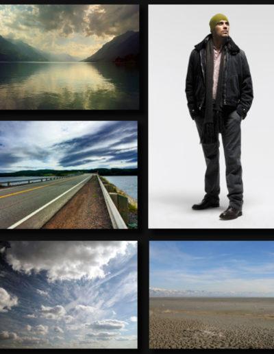 Elements de base pour photomontage